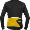 Abbigliamento Ciclismo Invernale - Maglia Manica Lunga Star Gialla Back   STILLBIKE