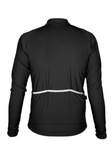 Abbigliamento Ciclismo Invernale - Maglia Manica Lunga Star Gialla Back | STILLBIKE