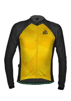 Abbigliamento Ciclismo Invernale - Maglia Manica Lunga Star Gialla | STILLBIKE