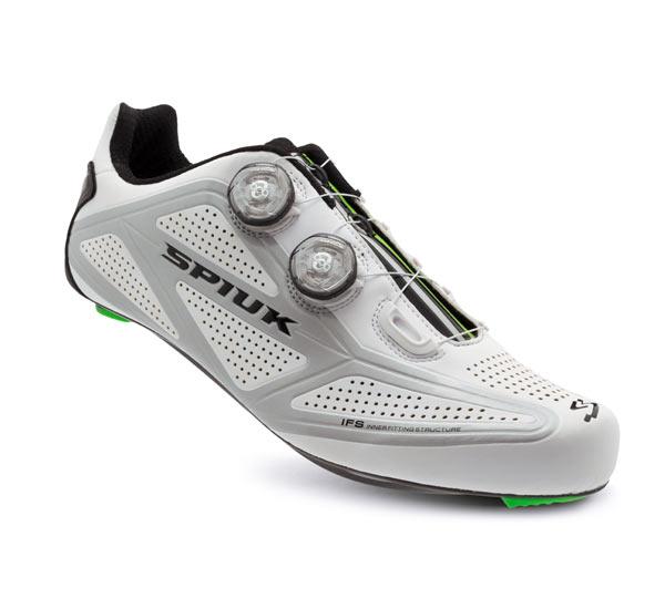 Scarpe Ciclismo - PROFIT R Bianche del Marchio Spiuk | STILL BIKE
