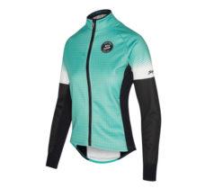 Abbigliamento Ciclismo Invernale - Giubbino Donna Performance Azzurro | STILLBIKE