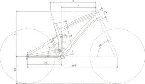 Geometria Ocelot   STILLBIKE - Accessori per il Ciclismo