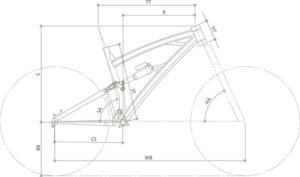Bici Elettriche Sportive - LUPO - Geometria   STILLBIKE - Accessori Ciclismo