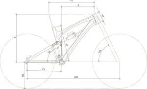 Geometria - Lupo Carbon Gara   STILLBIKE - Accessori per il Ciclismo