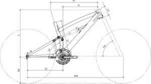 Geometria - Ray 140 | STILLBIKE - Accessori per il Ciclismo