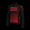 Abbigliamento Ciclismo Invernale - Giubbino Rosso Plus di Hicari Sport   STILLBIKE